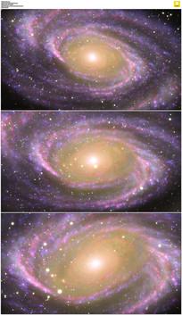 大气宇宙星空动态视频素材