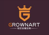 家具皇冠字母G型logo