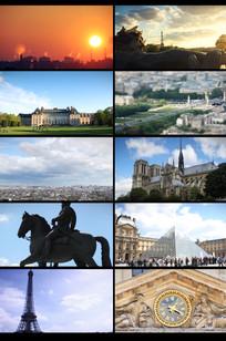 欧洲城市延时摄影视频