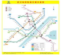 武汉地铁地图 CDR