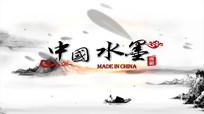 中国风水墨蝴蝶片头AE模板