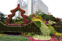 北京世园会立体花坛 JPG