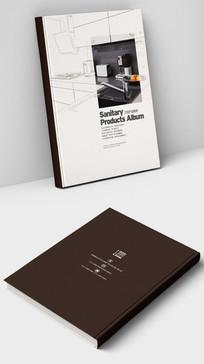 不锈钢水龙头产品画册封面