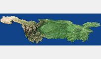 长江流域地形图设计 PSD