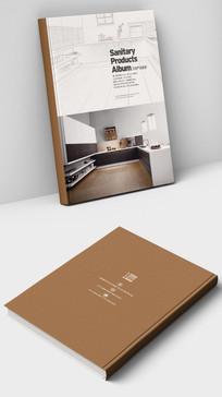 厨房厨柜产品画册封面