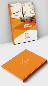 国航客机飞机宣传画册封面