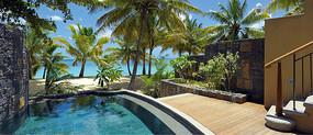 海边度假酒店一景