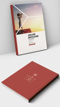 航空梦航空公司飞机画册封面