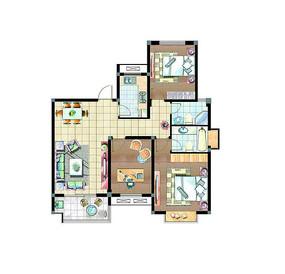 家具室内户型图