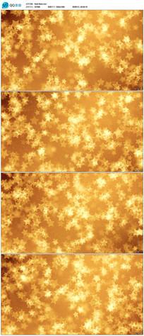 金黄色五角星舞台背景视频素材