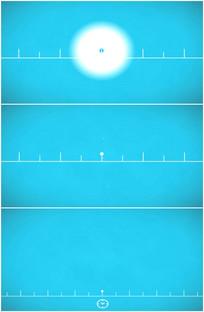 卡通尺子测量距离厘米动画视频