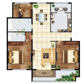 木质多层房间装修