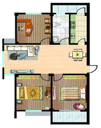 室内设计户型