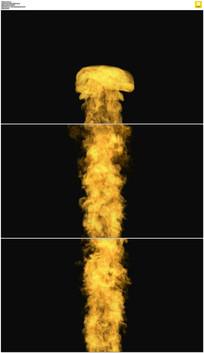 透明通道火焰视频素材