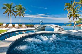 温泉泳池度假酒店