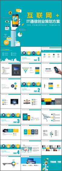 IT通信创业策划方案PPT