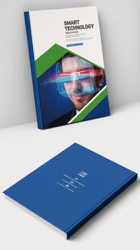 VR虚拟现实眼镜科技宣传封面