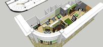 房地产售楼部设计