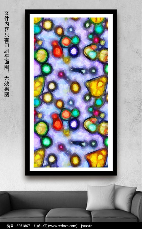 水彩油画室内装饰画图片