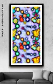 水彩油画室内装饰画