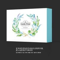 唯美中国风保健品食品包装设计