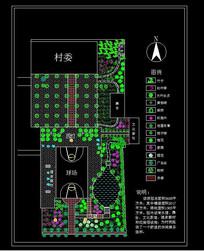 小区绿化设计方案 dwg