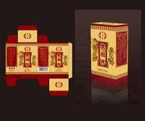 药油包装盒包装设计