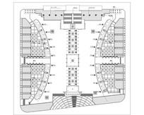 政府广场绿化规划图 dwg