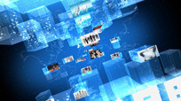 三维科技立体新闻栏目包装视频  aep