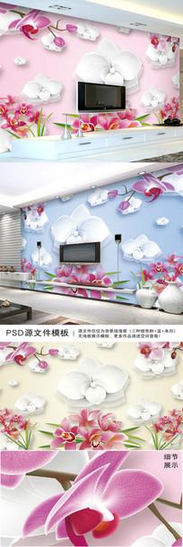 温馨电视背景墙