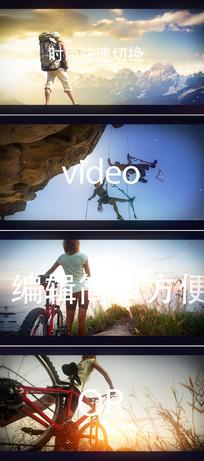 标题文字快速影片剪辑宣传片头