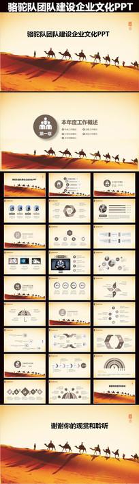 大气团队建设企业文化PPT