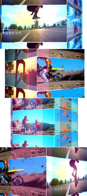 动感体育视频片头ae模板