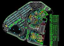 公园广场规划图纸