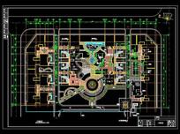 广场平面设计图 dwg