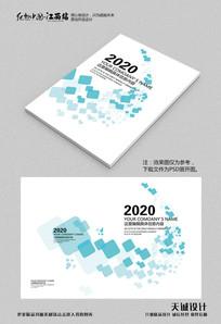 极简企业画册封面设计