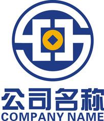 金融S字母圆形logo