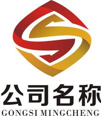 金融s字母logo CDR