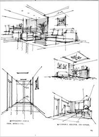 空间透视手绘练习图 JPG