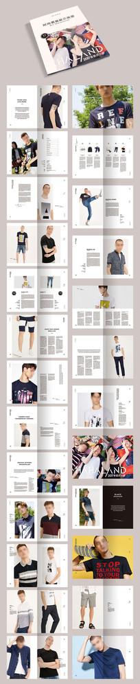 品牌服饰服装画册宣传册模板