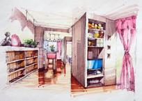 少女的卧室 JPG