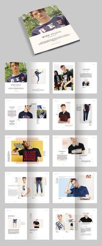 时尚服装画册宣传册模板