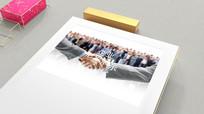 精致企业文化照片墙三维展示视频