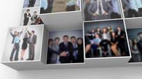企业文化照片墙汇聚logo