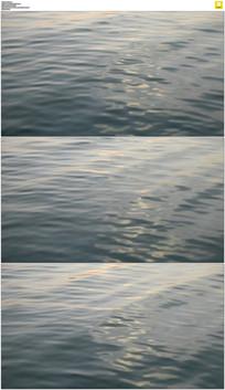 海水波纹实拍视频素材