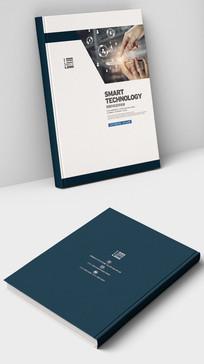 智能手机安防宣传画册封面