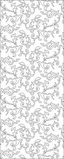 欧美花纹雕刻图案