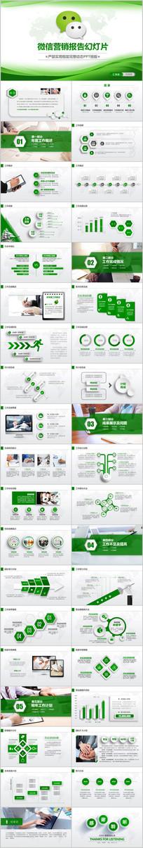 微信营销微商微店商务PPT