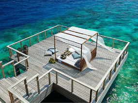 海边景观木平台