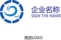 商务简约商贸企业logo